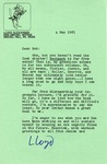 May 4, 1981 Letter