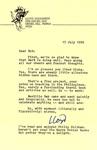 July 17, 1999 Letter