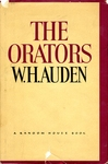 The Orators: An English Study, 1934, 1966 by W. H. Auden