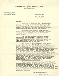 October 17, 1968 Letter