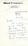 January 2, 1969 Letter