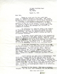 March 11, 1969 Letter