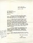 April 7, 1969 Letter