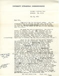 May 13, 1969 Letter
