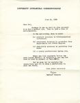 June 29, 1969 Letter by Herbert Howarth