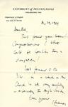 August 29, 1969 Letter