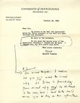 October 18, 1969 Letter