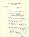 October 24, 1969 Letter