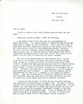 C.L. Wrenn Letter