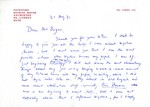 August 21, 1971 Coghill Letter