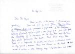 September 20, 1971 Coghill Letter by Nevill Coghill