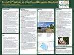 Forestry Practices in a Northeast Wisconsin Woodland