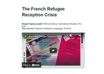 The French Refugee Reception Crisis