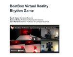 BeatBox Virtual Reality Rhythm Game