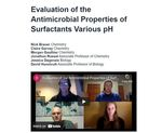 Evaluation of the Antimicrobial Properties of Surfactants Various pH