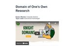 Domain of One's Own Research