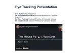Eye Tracking Presentation