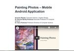 Painting Photos – Mobile Android Application