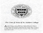 The Coat of Arms of St. Norbert College by St. Norbert College