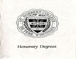 Honorary Degrees by St. Norbert College