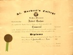 Commercial diploma from St. Norbert College
