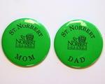 Parents Association Buttons and Pens