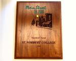 Brown Wood Plaque