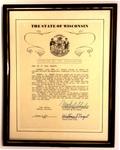 Citation By the Legislature