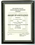 Award of Excellence For Austin E. Cofrin Hall