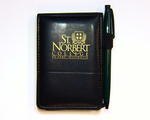 Leather Notepad and Pen