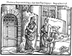 Emperor Henry IV Waiting Three Days Upon Pope Gregory VII