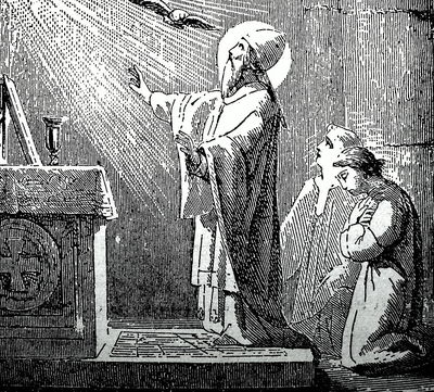 Gregory VII Saying Mass