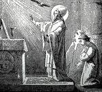 Gregory VII Saying Mass