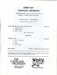 Green Bay Symphony Orchestra - Symphony No. 3