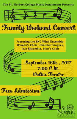 Family Weekend Concert