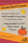 Autumn Band Concert 2017