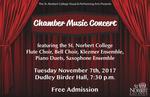 Chamber Music Concert Fall 2017