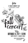 Community Band Concert Fall 2017