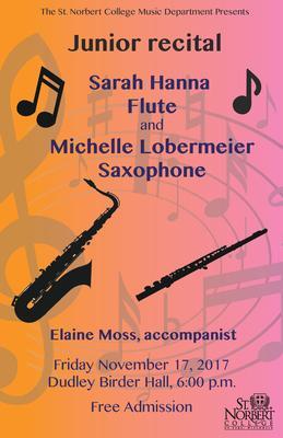 Junior Recital - Sarah Hanna and Michelle Lobermeier
