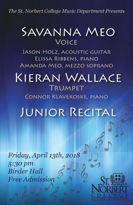 Junior Recital - Kieran Wallace