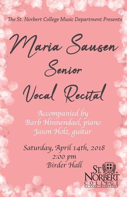 Senior Recital - Maria Sausen