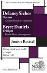 Junior Recital - Delaney Sieber and Bryce Daniels