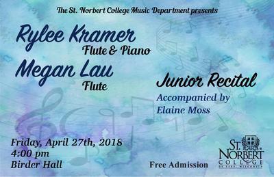 Junior Recital - Rylee Kramer and Megan Lau