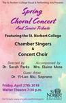 Spring Choral Concert 2018