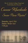 Senior Recital - Connor Klavekoske