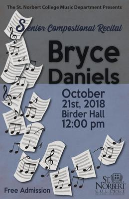 Senior Composition Recital - Bryce Daniels