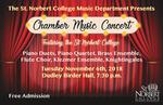 Chamber Music Concert, Fall 2018