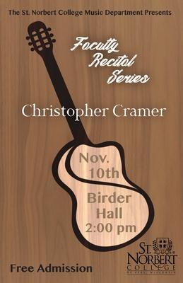 Faculty Recital - Dr. Christopher Cramer
