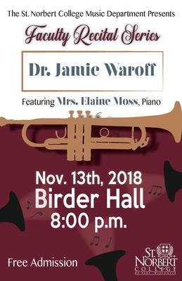 Faculty Recital - Dr. Jamie Karp Waroff