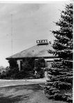 WTAQ transmission building exterior by St. Norbert Abbey